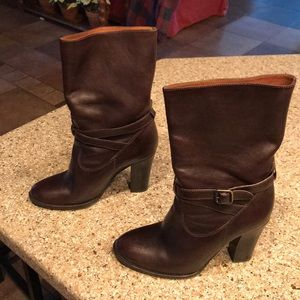 J Crew women's high heeled boot size 8.5